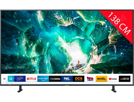 TV LED 4K 138 cm SAMSUNG UE55RU8005 - Mode Gaming - Smart TV