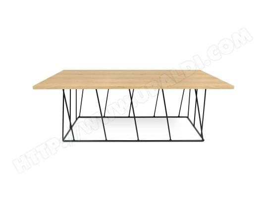 Table basse h lix rectangulaire ch ne noir camif ma 93ca182tabl pso24 pas cher - Table basse camif ...