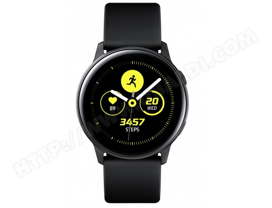 Connectée Galaxy Sm Watch R500nzkaxef Active Montre Samsung Noir E2DIeWYbH9