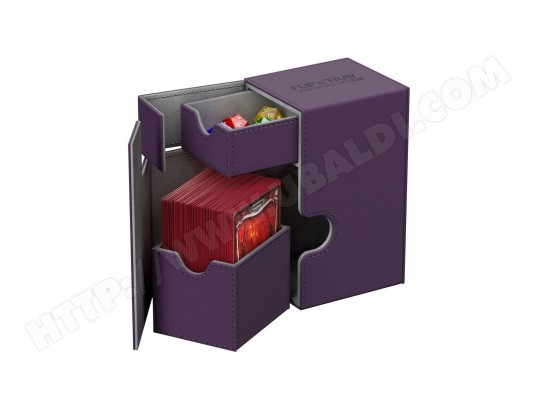 Neuf Accessoires Flip Deck Case Ultimate Guard Violet Xenoskin 100