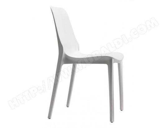 Scab Lot Pas Cher 6 Ginevra Chaise De Empilable Lin Design Chaises 4jL5AR