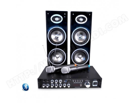 Ensemble karaoke - Afficheur digital - BLUETOOTH + 2 Micros VHF - LTC KARAOKE-STAR3-WM LTC AUDIO MA-79CA265ENSE-3MAM3