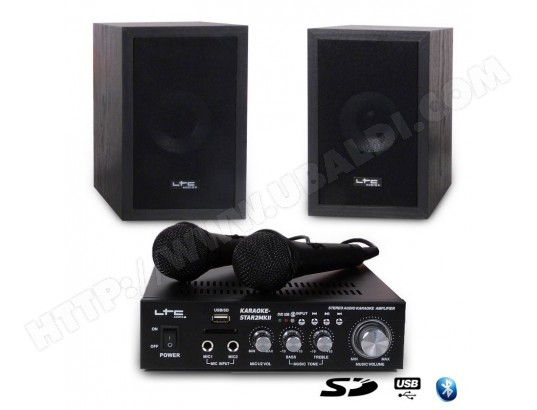 Ensemble Karaoke 100W - USB/SD/BLUETOOTH - LTC AUDIO STAR2MKII LTC AUDIO MA-79CA431ENSE-4WT7V