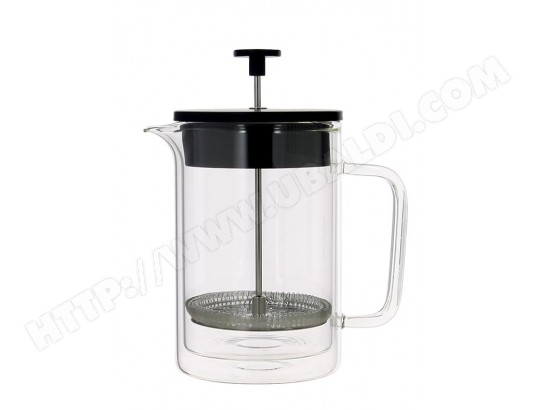 CAFETIERE A PISTON DOUBLE PAROI EN VERRE 800ML OGO OGO LIVING MA-51CA101CAFE-LGV60