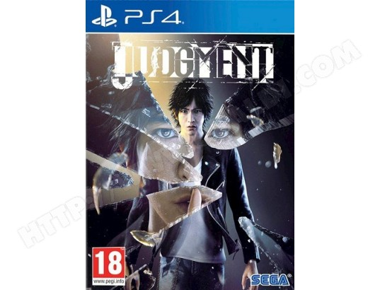 Judgment PS4 SEGA MA-48CA460JUDG-XC064