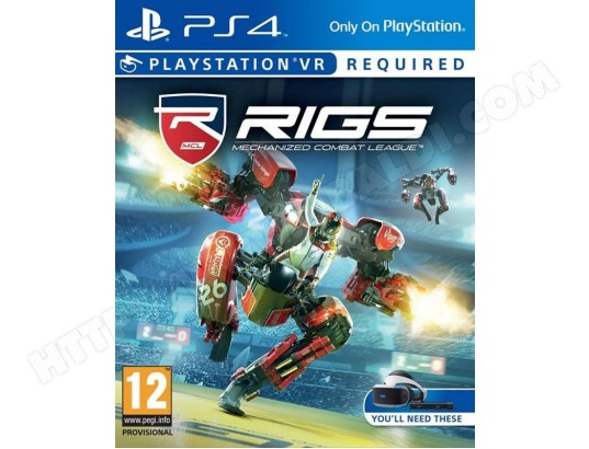 RIGS : Mechanized Combat League [Playstation VR] [PS4] SONY MA-28CA460RIGS-HPD93