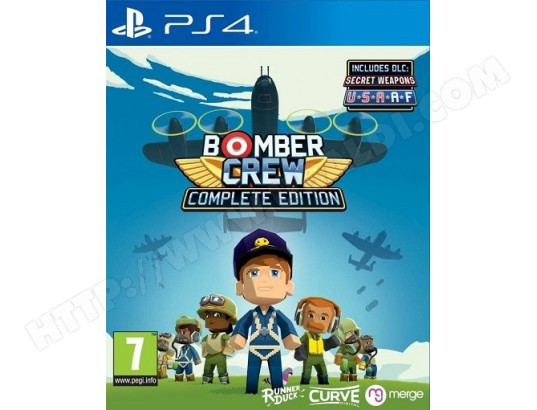 Bomber Crew Complete Edition PS4 KOCH MEDIA MA-47CA460BOMB-095NR