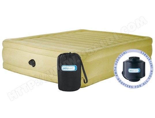 Avis matelas gonflable aerobed airbed confort raised test critique et note - Matelas gonflable confort ...