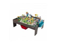 Ensemble table et circuit en bois My Own City KIDKRAFT MA-64CA387ENSE-Y7BM4