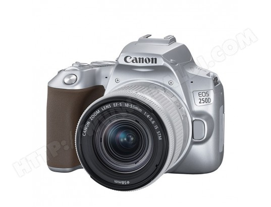 CANON EOS 250D Silver + 18-55 IS STM CANON MA-56CA197CANO-ES4CD