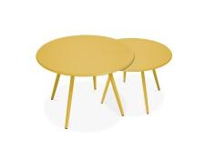 OVIALA Mobilier de jardin , Type : Table extérieure