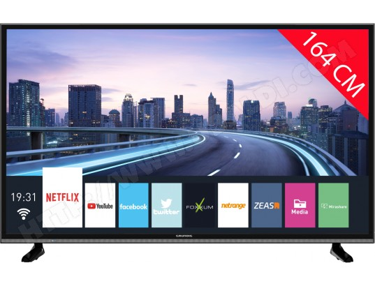 TV LED 4K 164 cm GRUNDIG 65VLX7850BP