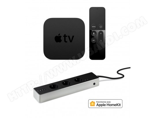 Disque dur multimédia APPLE Pack Apple TV + EVE Energy Strip