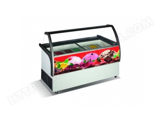 Vitrine a glace 10 x 5 L Curacao - Combisteel COMBISTEEL 15709