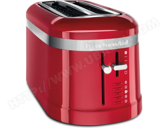 grille-pain 2 fentes 1500w rouge empire - 5kmt5115eer KITCHENAID MA-16CA102GRIL-VP535