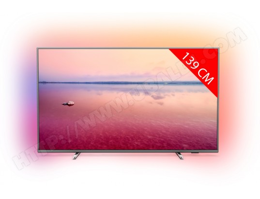TV LED 4K 139 cm PHILIPS 55PUS6754/12