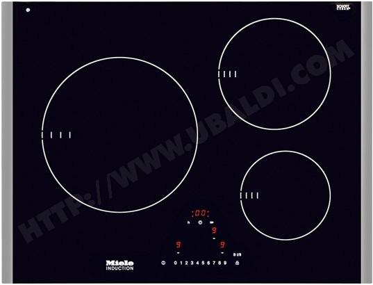 miele km6311lightprint plaque induction pas cher. Black Bedroom Furniture Sets. Home Design Ideas