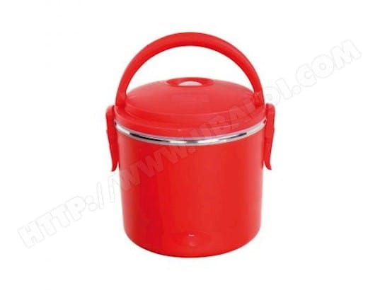 Lunch box lectrique rouge benomad de003690 pas cher - Lunch box pas cher ...