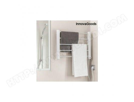Porte serviettes lectrique mural innovagoods 65w blanc gris 5 barres dealstore inovagoods pas - Porte serviette mural pas cher ...