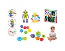 PLAYGO - PlayGo Set activités bébé?: Robot et Hochet (couleur baby 44572) TBD MA-42CA310PLAY-GIWKR