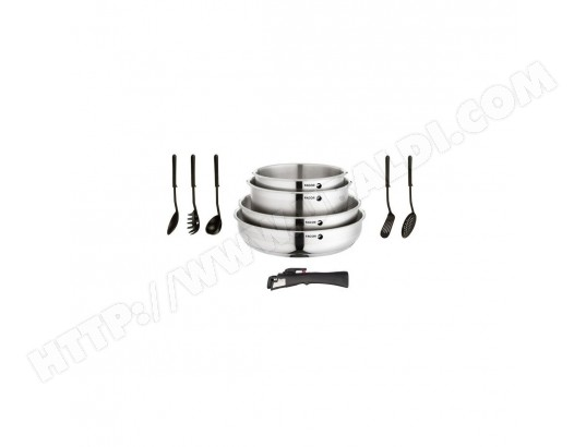 FAGOR AM262 - Batterie de cuisine 10 pieces - tous feux dont induction + four FAGOR MA-10CA212FAGO-DFO2X
