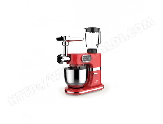CONTINENTAL EDISON Robot patissier multifonctions - 1000 W - Rouge CONTINENTAL EDISON MA-32CA439CONT-OFS2Z