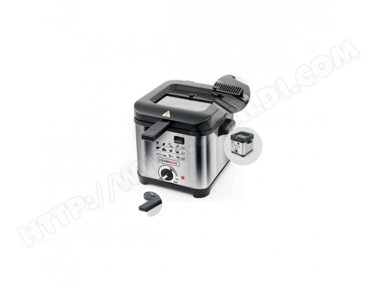 KITCHEN COOK -FR1010_INOX - Friteuse - 1,5L - 900W - Inox KITCHEN COOK MA-32CA105KITC-NJQ0G