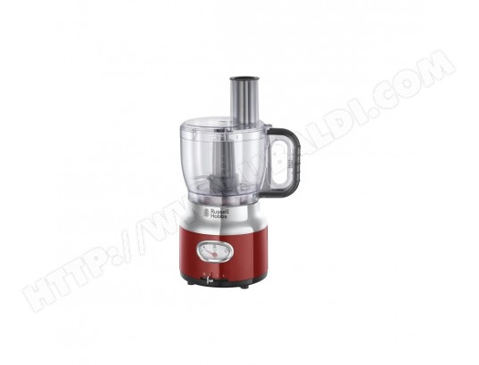 RUSSELL HOBBS 25180-56 - Robot multifonction Retro - 850 W - Rouge RUSSELL HOBBS MA-25CA439RUSS-D15XX
