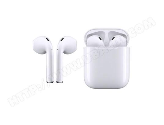 DEALSTORE Ecouteurs bluetooth avec boitier de recharge touch Control Tactile 5.0 Blanc MA 44CA266ECOU Z18ZH