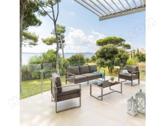 Salon de jardin Sesimbra tonka Hespéride HESPERIDE MA ...