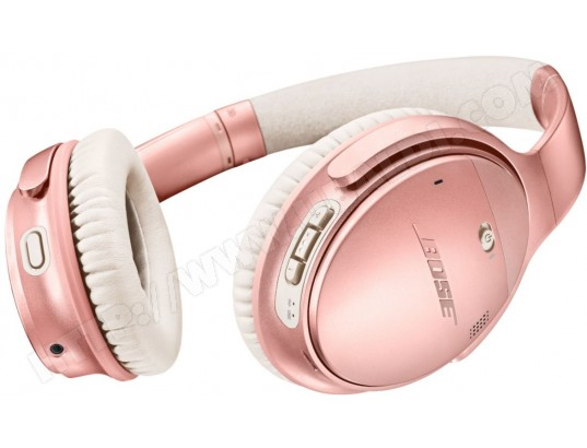 Casque sans fil BOSE QuietComfort 35 II Rose
