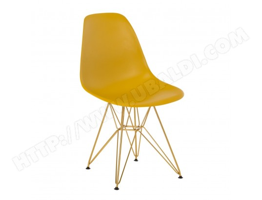 Chaise IMS Métal Jaune Curri   Doré TBD 2919_7731