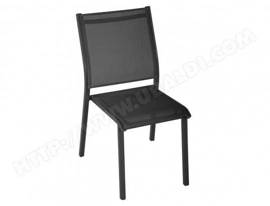 Jardin Empilable Essentia Alu Anthracitegris Hespéride De Chaise WrCedoBx