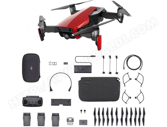 Drone DJI INNOVATION Mavic Air Combo Flame Red