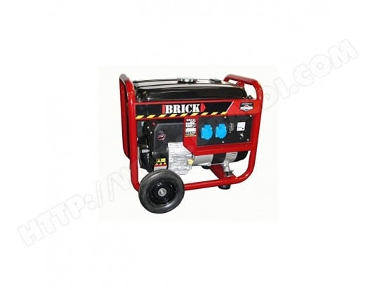 Build Worker BGBS3500 Générateur, 3000 W, Noir. GARANTIE 3 ans BUILD WORKER 5411074131999