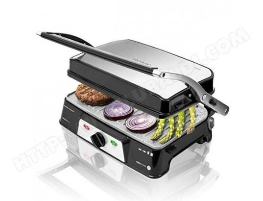 Gril contact Cecotec Rock'n grill 1500 Take&Clean 1500W Noir. Argent?. CECOTEC V1704680