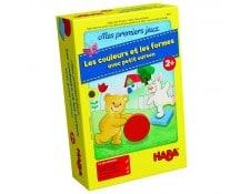 Premiere jeux: Couleurs et formes du Petit ourson HABA MA-30CA387MESP-N6B13
