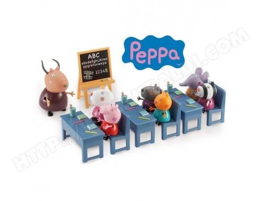 Figurines Peppa Pig La Classe Avec 7 Personnes Giochi