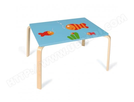 Table Maurice le Poisson SCRATCH EUROPE MA-17CA187TABL-4MXLN