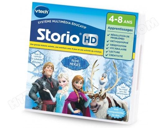 Jeu pour console de jeux storio hd la reine des neiges frozen vtech ma 60ca396jeup c2u6k pas - Console de jeux pour enfant ...