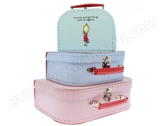 valise en carton princesses petit mod le petit jour paris ma 46ca187vali 5eet3 pas cher. Black Bedroom Furniture Sets. Home Design Ideas