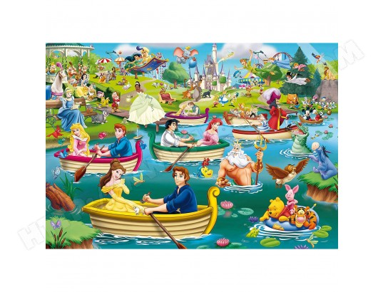Puzzle L'eauDisney Ma King 1000 Puzzles PiècesPlaisir Sur nwOX80Pk