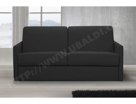 Canapé Convertible Rapido Studio Deluxe 160 X 195 Tissu Gris