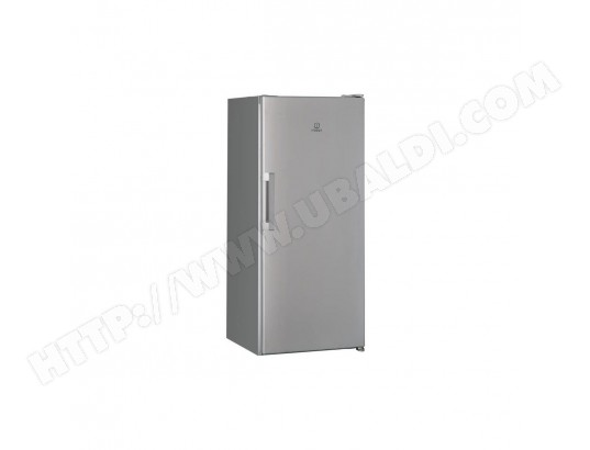 INDESIT SI41S -Refrigerateur armoire, 262L, 142 x59, 5cm, Silver, A+, Froid statique, eclairage LED INDESIT MA-14CA7__INDE-HTB16