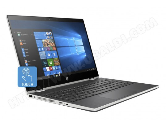 Ordinateur portable tactile HP Pavilion X360 Convertible 14-dh0018nf, i5-8265U