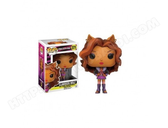 Figurine Monster High - Clawdeen Wolf Pop 10cm FUNKO MA-16CA371FIGU-0JR42