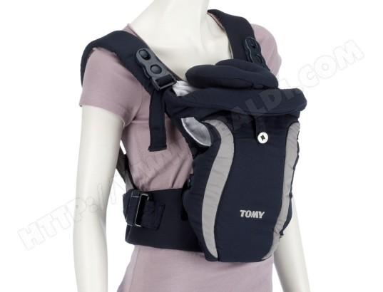 Porte bébé ventral TOMY Freestyle Premier noir et gris Pas Cher   UBALDI.com d65c19daec2