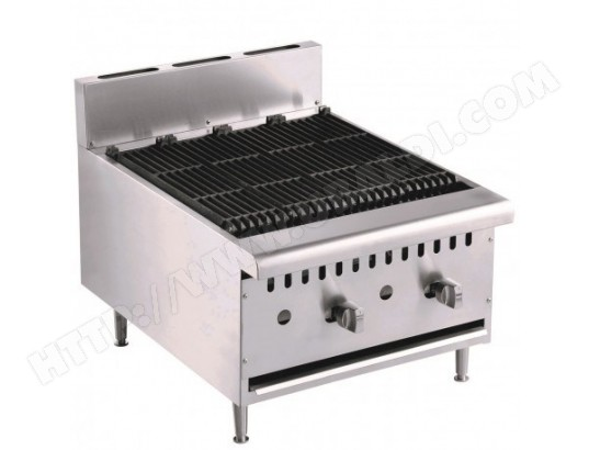 Grill à gaz de table professionnel                         800 COMBISTEEL 29479