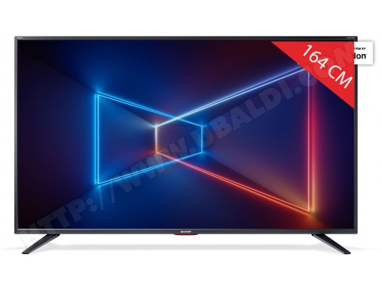 TV LED 4K 164 cm SHARP LC65UI7552E