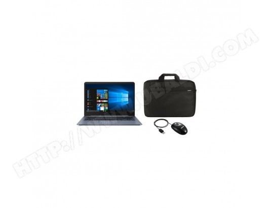 PC Portable-ASUS E406SA-BV266TS 14HD - 4Go - 64Go - NumPad - Office 365 Personnel inclus 1 an + Sacoche et Souris ASUS ASUS MA-25CA48_PCPO-CU4G5